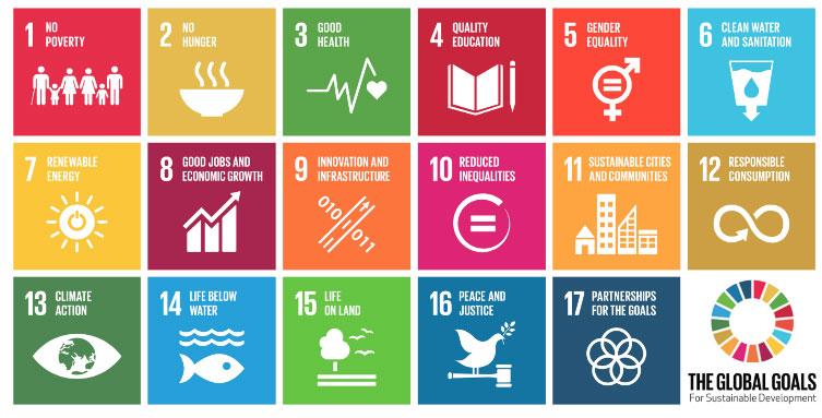 17 Globala hållbarhets mål